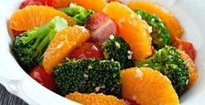 Lishniy ves salat s apelsinom 300x154 - Лишний вес салат с апельсином