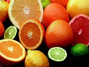 витамины цитрусы апельсин лайм грейпфрут