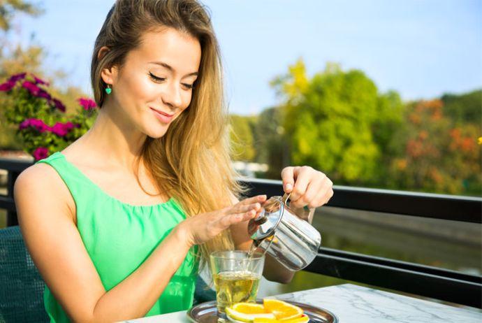 Kak vyipit lyubimyiy chay - Чай после еды