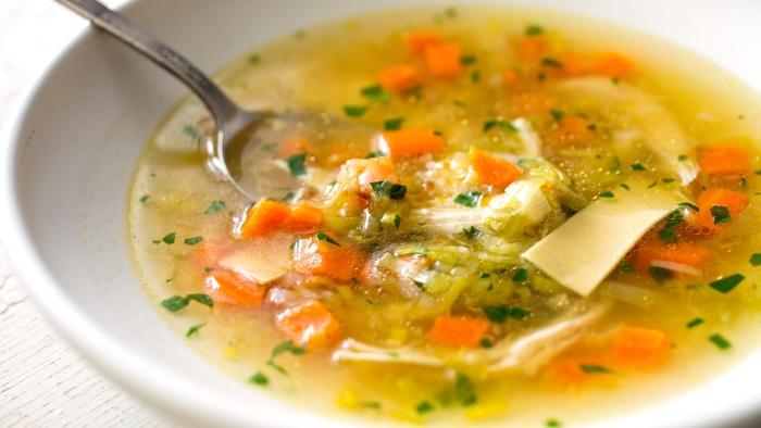 Prigotovlenie supa - Приготовление супа