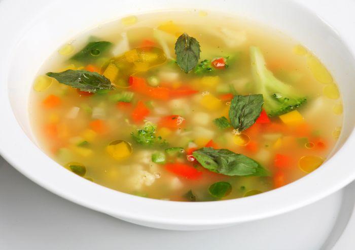 Prostoy ovoshhnoy sup - Овощной суп