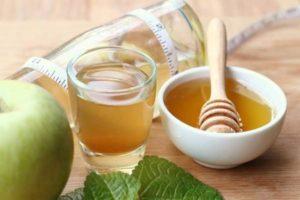 yablochnyj uksus i med 300x200 - яблочный уксус и мед