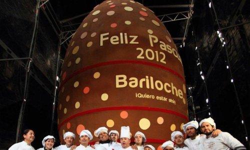 choco egg - Рекорд: самая большая шоколадка в мире