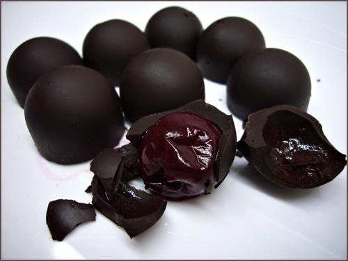 Vischnja v konjake - Необычные вкусы шоколада